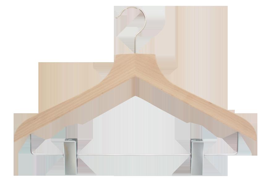 cintre-bois-149c-avec-pinces-jupe-pantalon-cintres-actus