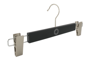 cintre-bois-noir-pinces-1612alu-premium-cintres-actus-france