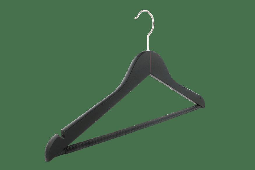 cintre-bois-noir-156h-logo-rouge-cintres-actus-france